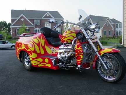 Boss Hoss Trike