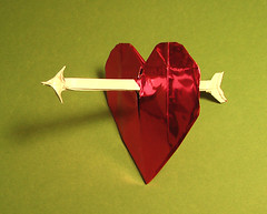 Paper Arrow 1 Photos | Arrow through Heart | 185