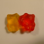 Conjoined head gummi bears