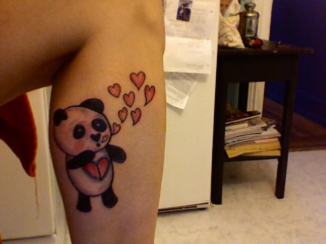 Panda Blues as A TATTOO
