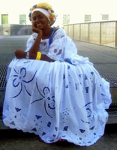 baiana dress brazil