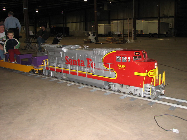 Rideable Model Trains http://www.flickr.com/photos/meabbott/2417951575/