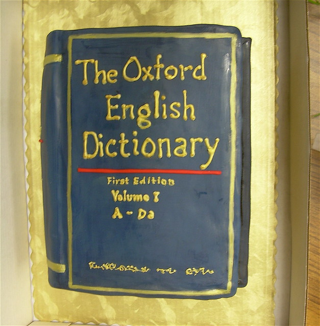 oxford english dictionary doctoral thesis