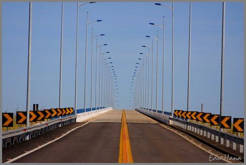 Perspectiva - Ponte sobre o Tocantins - Pedro Afonso-TO