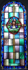 Saint Jude stained glass