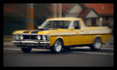 automobile, automotive exterior, vehicle, ford xy falcon gt, classic car, land vehicle,