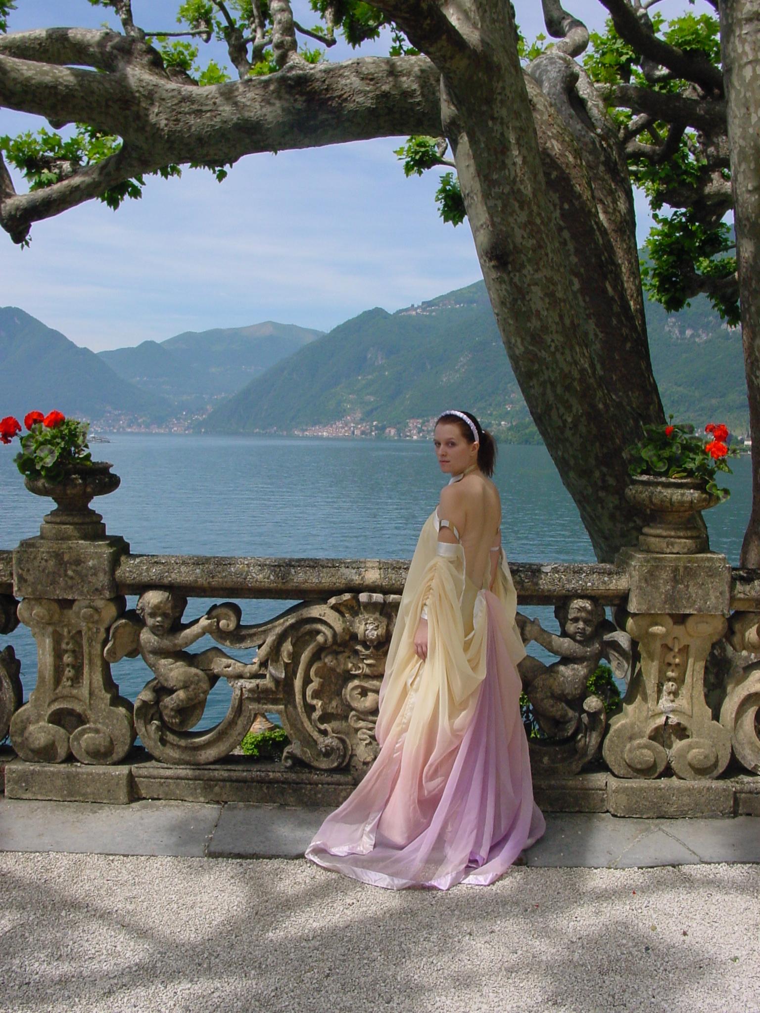 Fluidr / Padme\' Amidala Lake Retreat Arrival Gown by Matt & Kristy