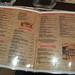 Small photo of La carta del Abilene Saloon