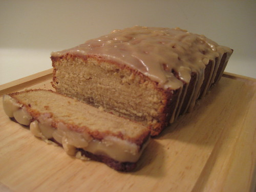 Brown Sugar Pound Cake With Caramel Glaze Nosh With Me