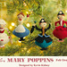 Mary Poppins Felt Ornaments