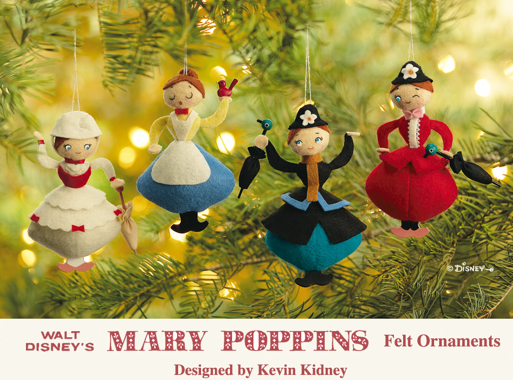 Mary Poppins Christmas Decoration
