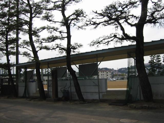 Photo:Behind stands, Fujieda Higashi High School By keyaki