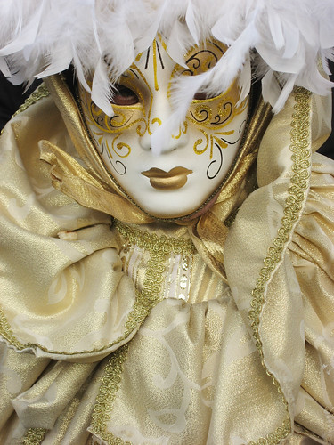 Venice Carnival - golden mask