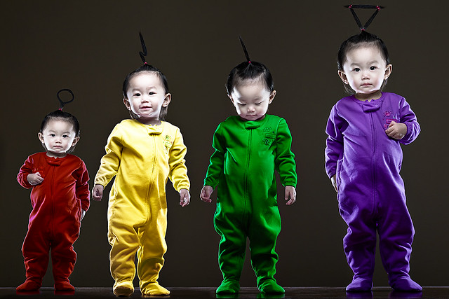 Time for teletubbies, Time for teletubbies ..