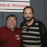 Me with Steve Wozniak