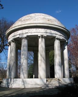 Imagen de DC War Memorial. architecture washingtondc dc districtofcolumbia wwi columns worldwarone monuments domes memorials themall worldwar1 doriccolumns thegreatwar dcworldwarmemorial