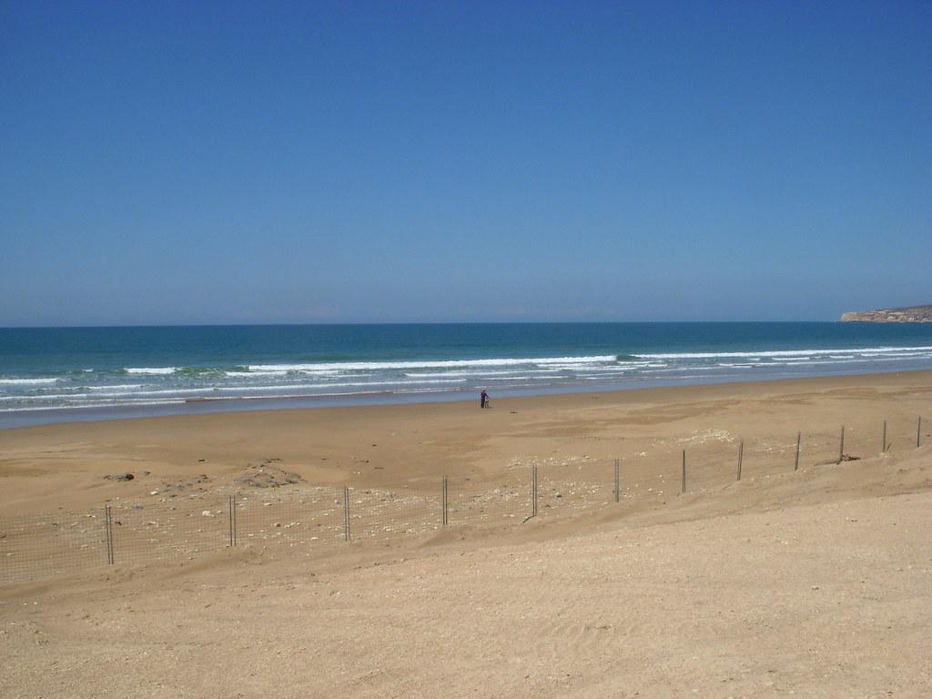 Пляж Тагхазоут марокко