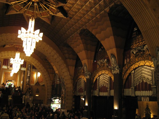 Lobby inside the Pantages Theater. (02/27/2008)