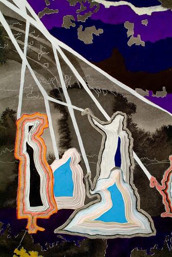 """Anna Fidler """"Maypole"""" (Detail)"""
