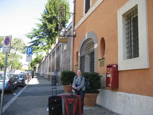 Hotel Domus Aventina, on Via Santa Prisca, on the Aventine Hill