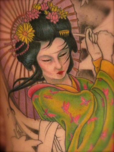 Japanfluence tattoo session 5 geisha - Tattoos geishas japonesas ...