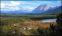 Pinnacle Mountain past Palmer, Alaska