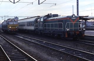 16.11.94 Kędzierzyn-Koźle ET22-206 and SP42-157