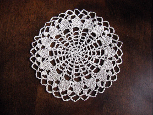 Crochet Doily Patterns Free For Beginners : free crochet doily patterns for beginners image search results