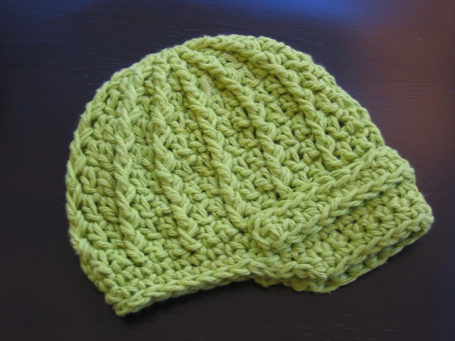 Free Crochet Pattern Newsboy Style Cap : FREE CROCHET PATTERN FOR NEWSBOY CAP Crochet Tutorials