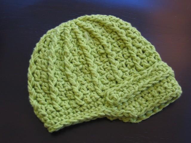 Free Crochet Pattern Newsboy Style Cap : FREE CROCHET PATTERN FOR NEWSBOY CAP Crochet Tutorials
