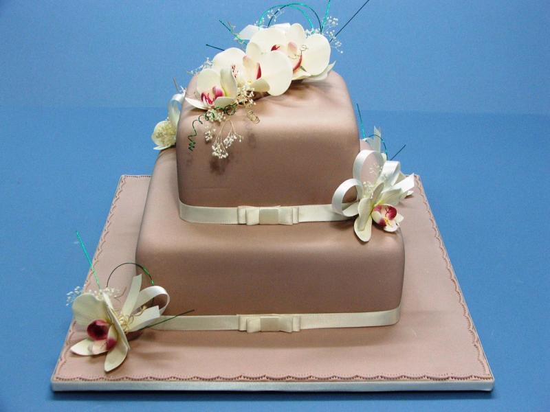 1 Tier Wedding Cake Sizes