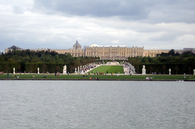 Versailles jardins et ch teau de versailles from grand canal flickr photo sharing for Jardin chateau de versailles