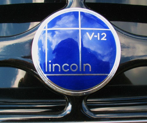 1936 Lincoln Badge by Mr. T in DC
