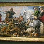 NYC - Metropolitan Museum of Art - Wolf and Fox Hunt