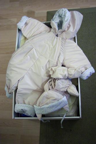 Un abrigo para que los bebés finlandeses no pasen frío