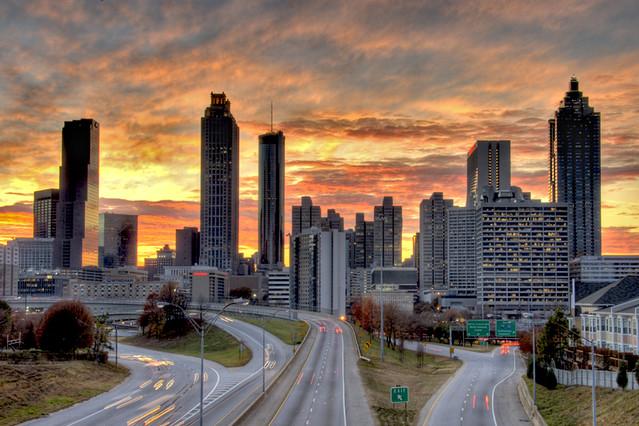 Atlanta S Skyline A Gallery On Flickr