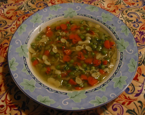 Very  Dilly Vegetable Soup