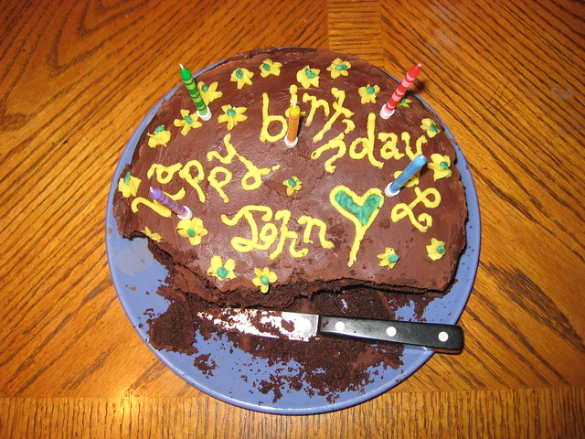 Birthday Cake For John : Happy Birthday John cake Flickr - Photo Sharing!