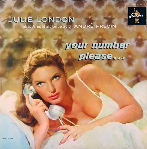 Julie London - Your Number Please / Liberty (1959)