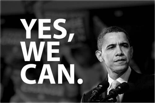 Obamas amtsantritt unter linux schauen yes we can for Bett yes we can