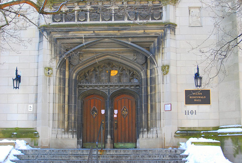 Doors of knowledge--University of chicago