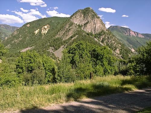 2003 trees mountain clouds landscape colorado aspen carbondale avalancheranch