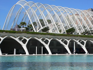 L'Umbracle at City of Arts and Sciences