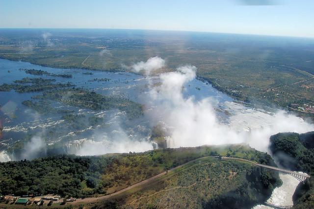 Las Cataratas Victoria, Zambia y Zimbaue