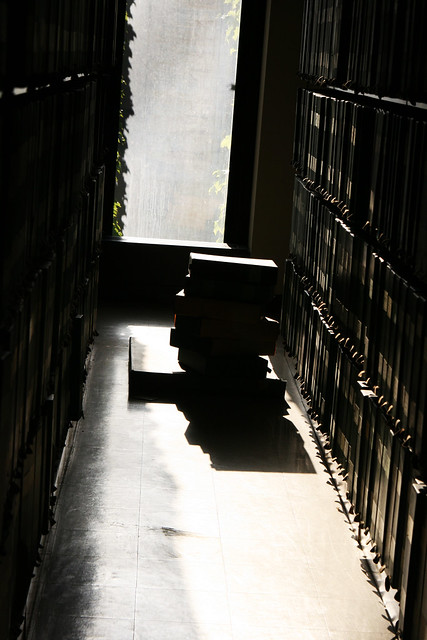 Books and shadows from Flickr via Wylio