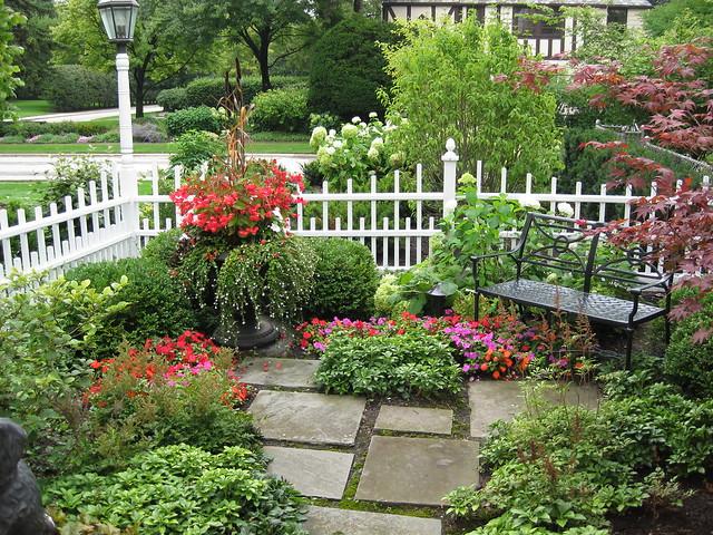 garden sitting area enjoy the seasons in this gorgeous gar