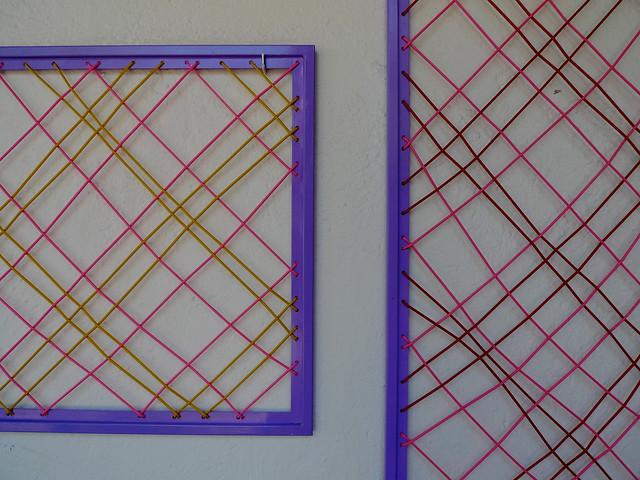 Neon weavings