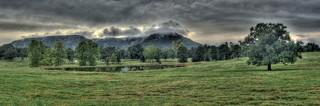 Foggy Hills in Arkansas