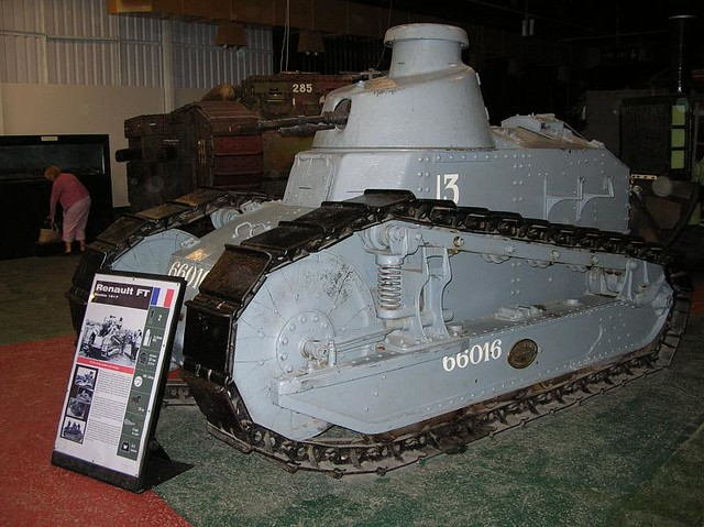 Bovington Tank Museum050 - WWI - French - Renault FT Tank Modele 1917 - 1917