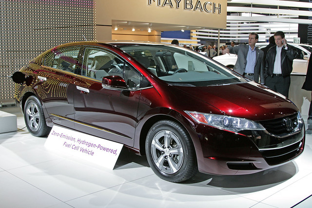 honda fuel cell hydrogen powered car flickr photo